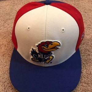 KU Kansas Jayhawks 7 3/4 Baseball Hat